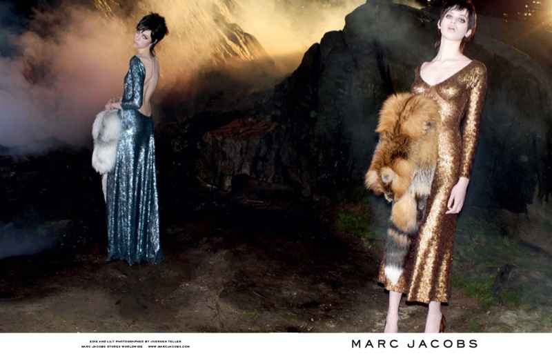 marc jacobs fall 2013 ads9 See More from Marc Jacobs Fall 2013 Ads with Edie Campbell & Lily McMenamy