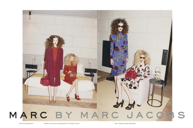 marc mj fall1 800x531 Marc by Marc Jacobs Gets Moody for Fall 2013 Ads by Juergen Teller