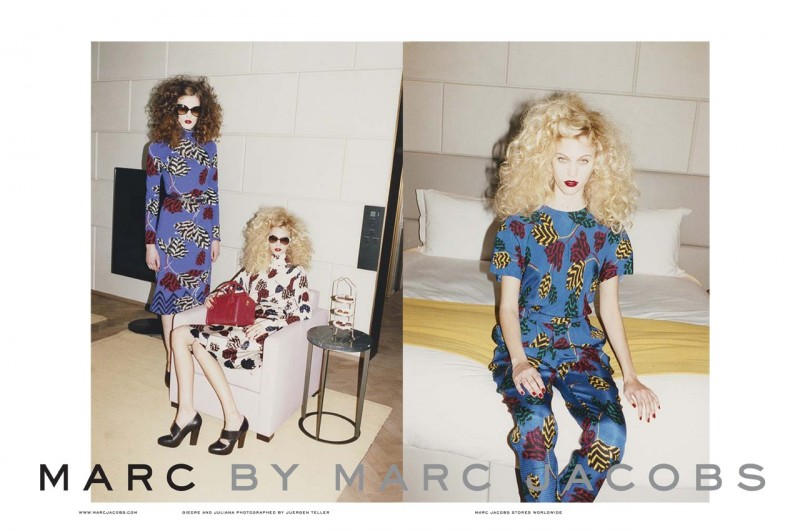 Marc by Marc Jacobs Gets Moody for Fall 2013 Ads by Juergen Teller