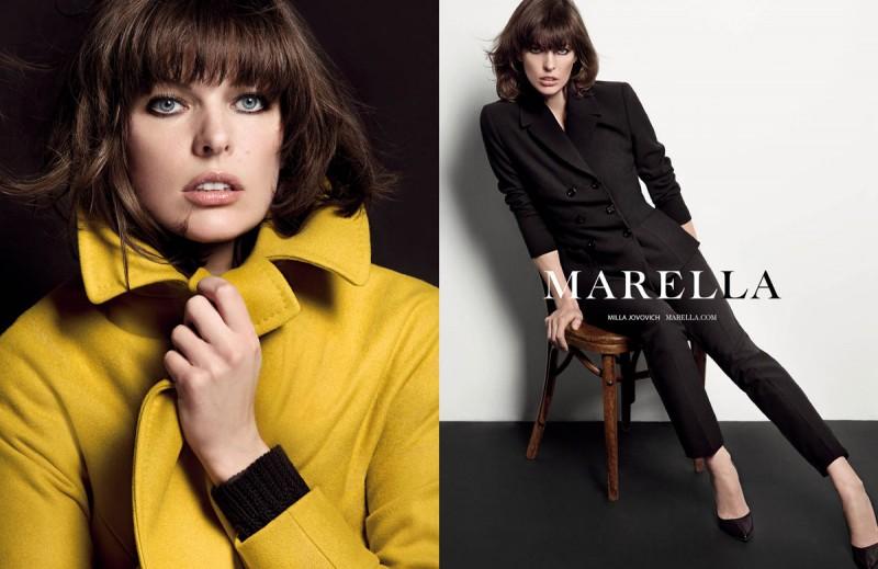 milla jovovich marella2 800x519 Milla Jovovich Fronts Marella Fall 2013 Campaign by Inez & Vinoodh