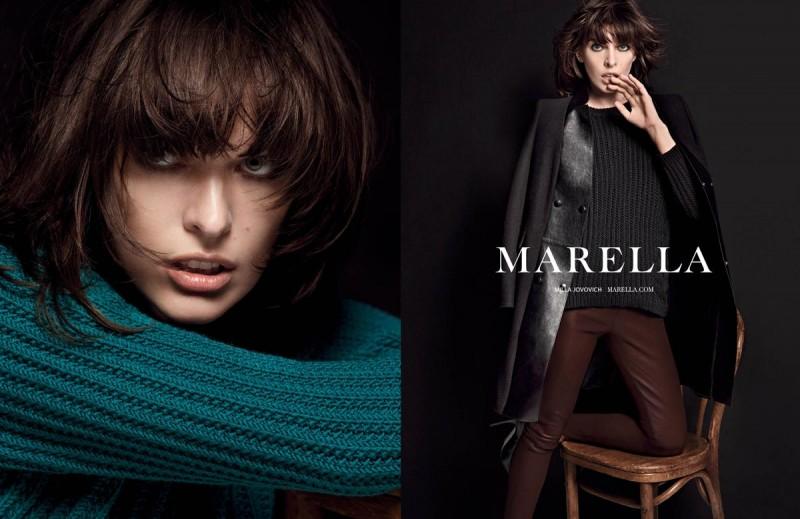 milla jovovich marella3 800x519 Milla Jovovich Fronts Marella Fall 2013 Campaign by Inez & Vinoodh