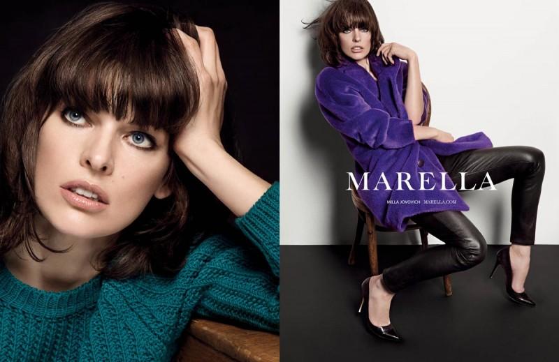 milla jovovich marella4 800x519 Milla Jovovich Fronts Marella Fall 2013 Campaign by Inez & Vinoodh