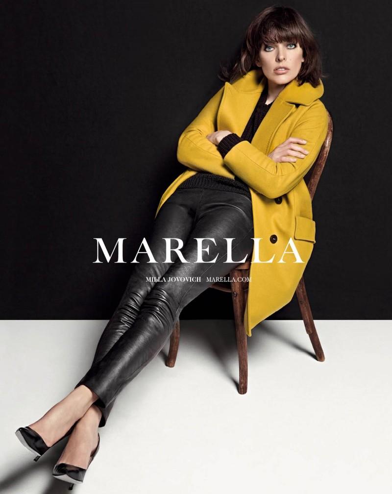 milla jovovich marella5 800x1008 Milla Jovovich Fronts Marella Fall 2013 Campaign by Inez & Vinoodh