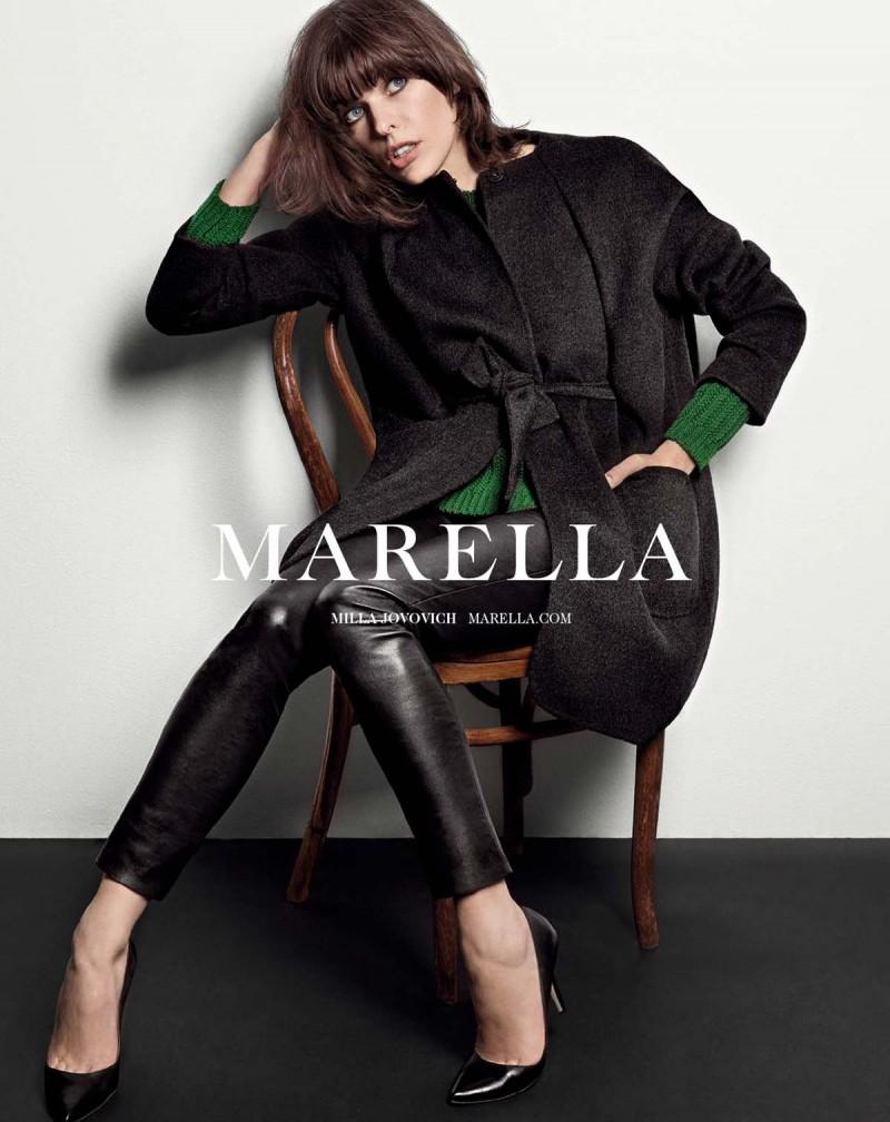 milla jovovich marella7 800x1008 Milla Jovovich Fronts Marella Fall 2013 Campaign by Inez & Vinoodh