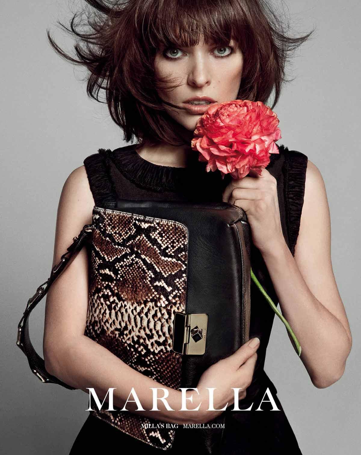 Milla Jovovich Fronts Marella Fall 2013 Campaign by Inez & Vinoodh