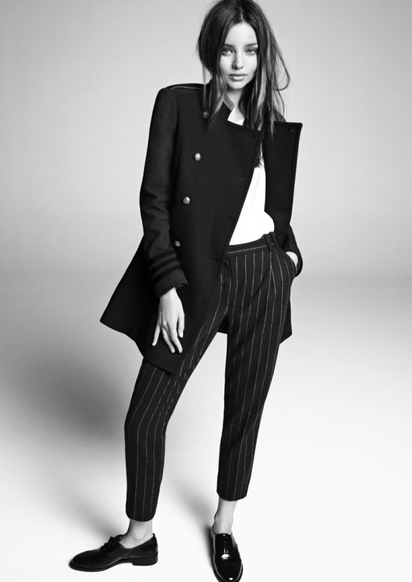 See More Images from Miranda Kerr's Fall 2013 Mango Ads ...