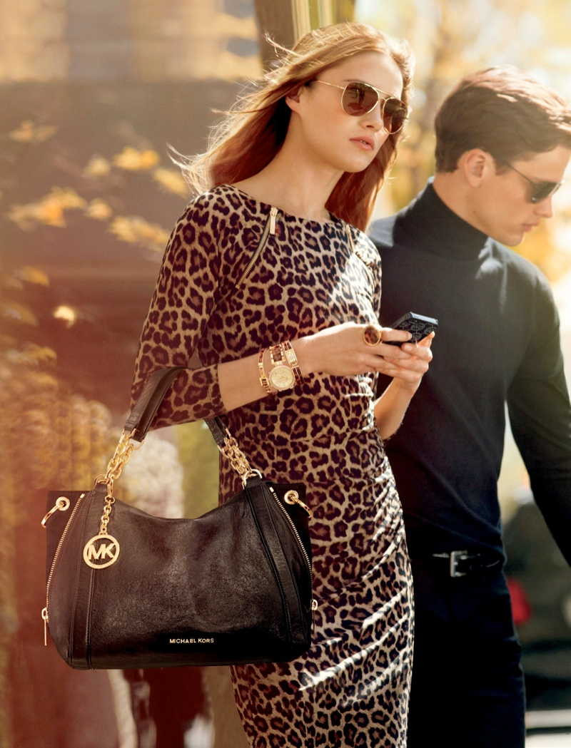 mk fall catalog10 Karmen Pedaru Models for Michael Kors Fall 2013 Catalogue