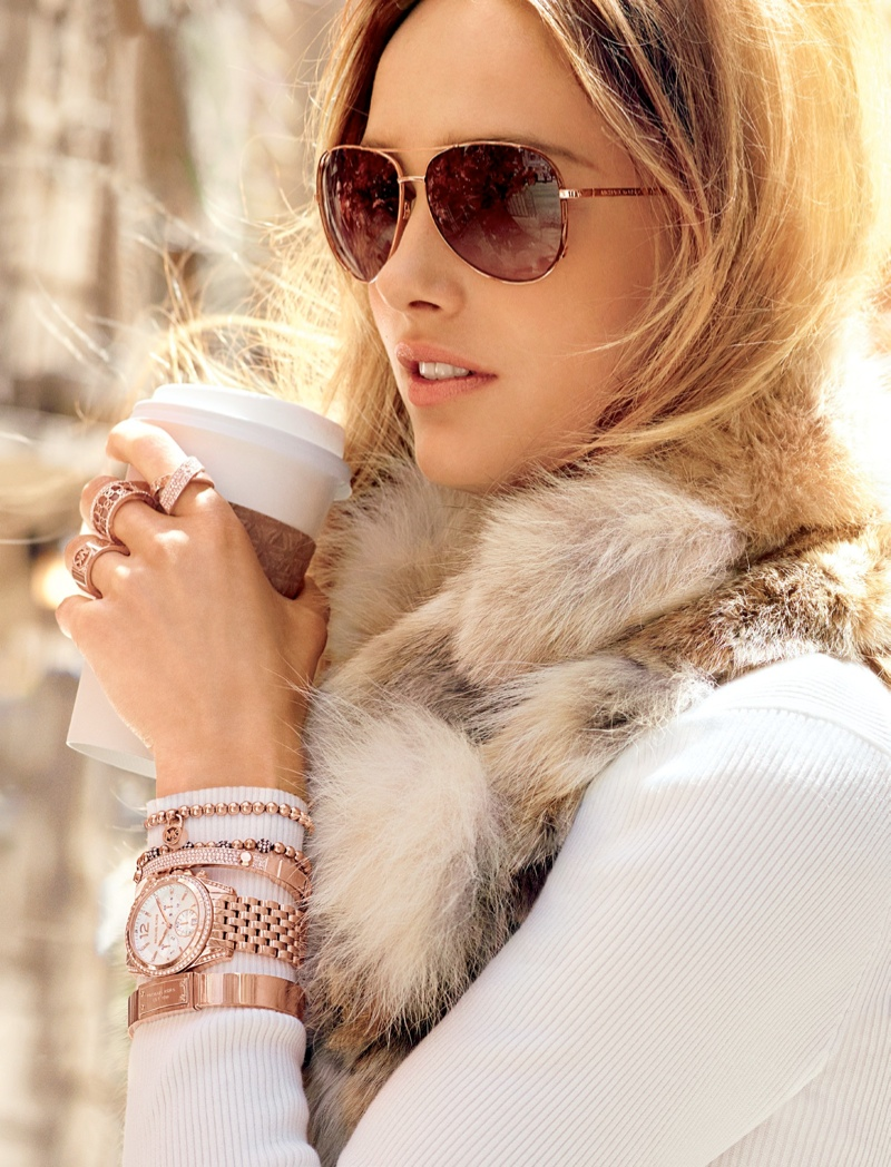 mk fall catalog11 Karmen Pedaru Models for Michael Kors Fall 2013 Catalogue