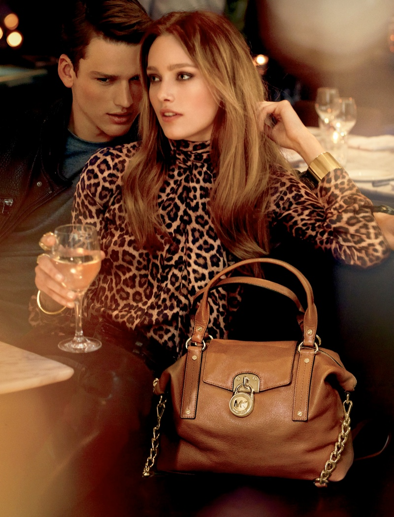 mk fall catalog2 Karmen Pedaru Models for Michael Kors Fall 2013 Catalogue