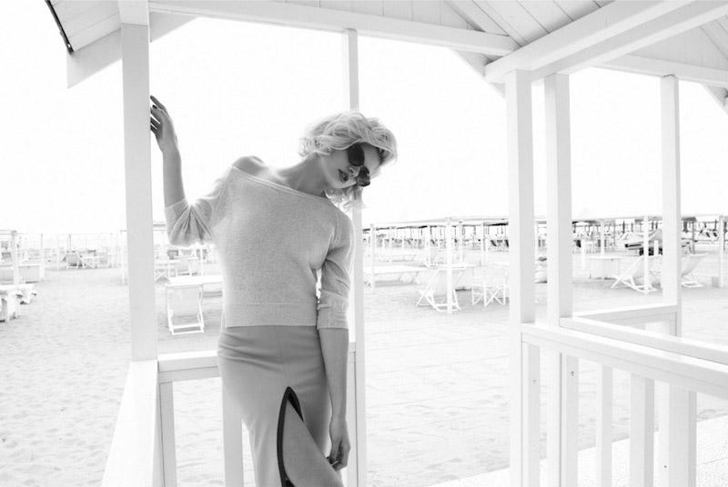 """Martina Dimitrova by Byron Mollinedo in """"Modern Marilyn"""" for Fashion Gone Rogue"""