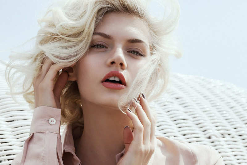 modern marilyn8 Martina Dimitrova by Byron Mollinedo in Modern Marilyn for Fashion Gone Rogue