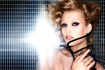 Toni Garrn Gets Glam for NARS Cosmetics Fall 2013 Ads
