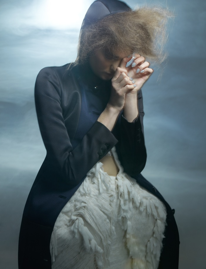 Kersti Pohlak Enchants in Spirit & Flesh Magazine by Paul de Luna