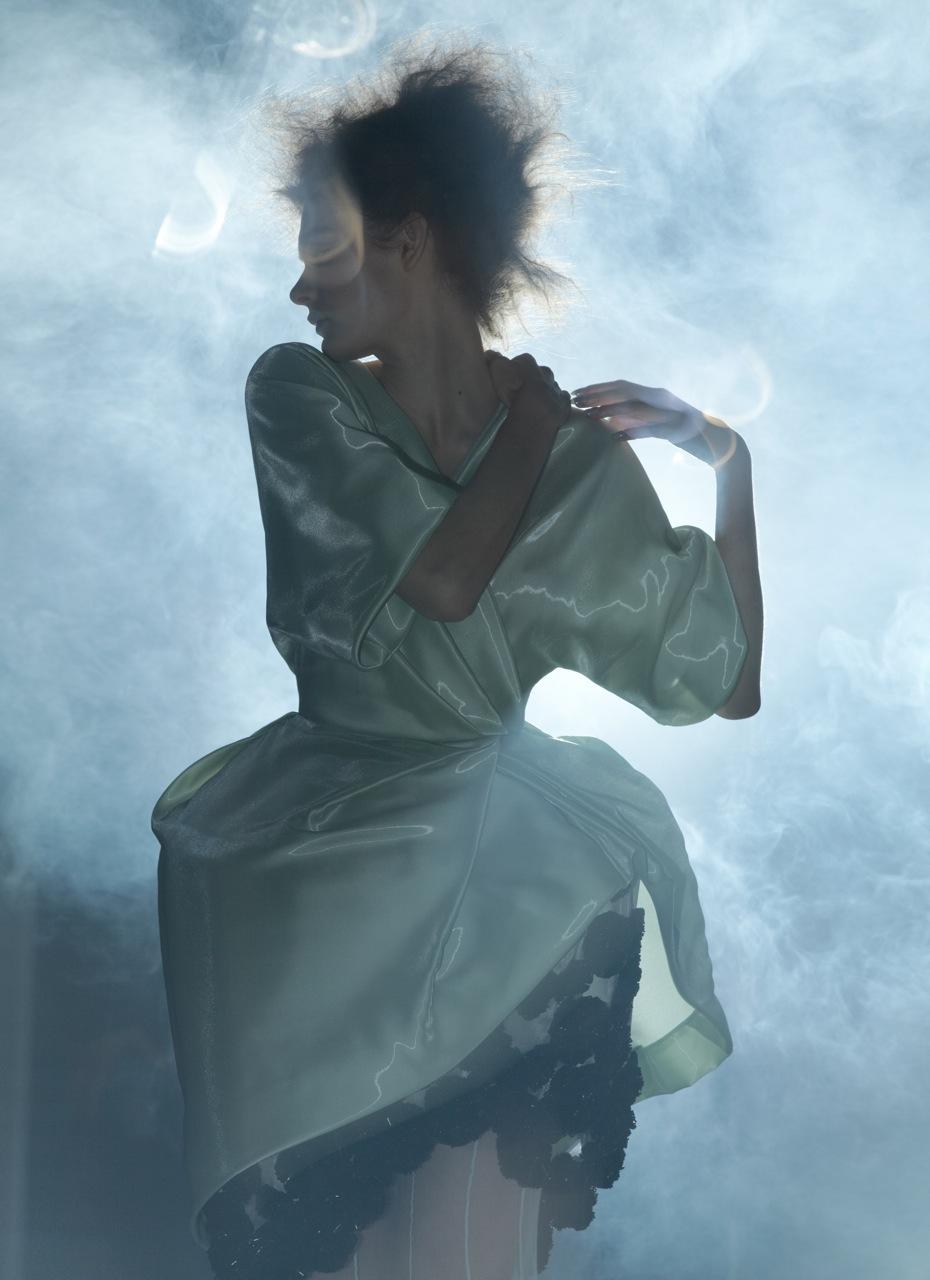 Kersti Pohlak Enchants in Spirit & Flesh Magazine by Paul de Luna