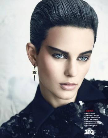 Ellinore Erichsen Gets Punk for Vogue Taiwan by Yossi Michaeli