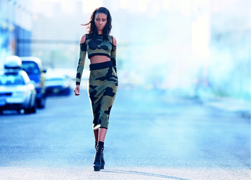 Rihanna for River Island's Fall 2013 Campaign Highlights Street Style