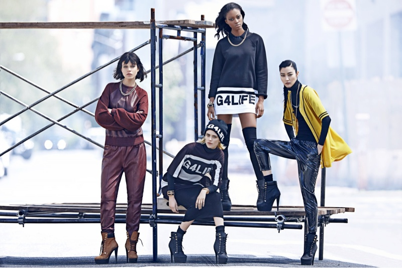 river island rihanna fw6 Rihanna for River Islands Fall 2013 Campaign Highlights Street Style
