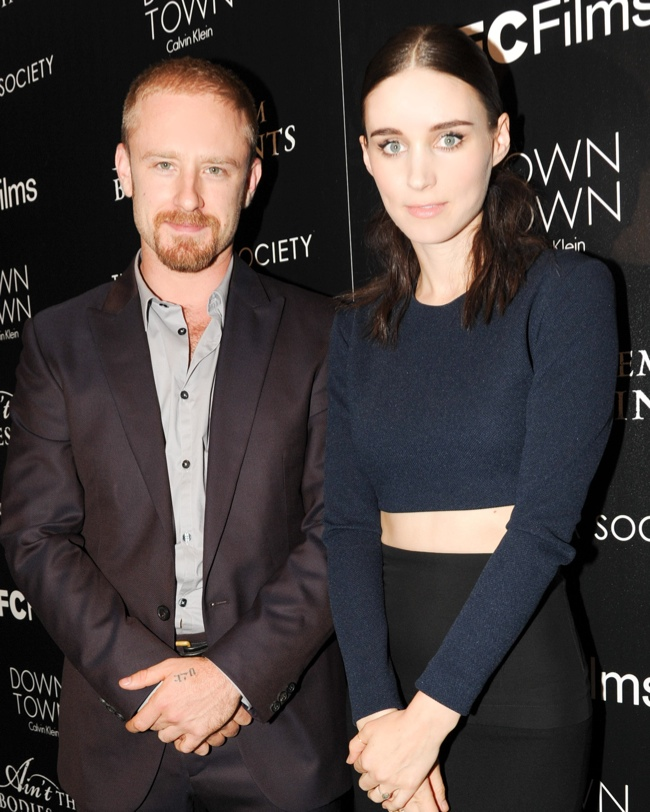 rooney in calvin klein3 Rooney Mara Wears Calvin Klein Collection at Aint Them Bodies Saints Screening