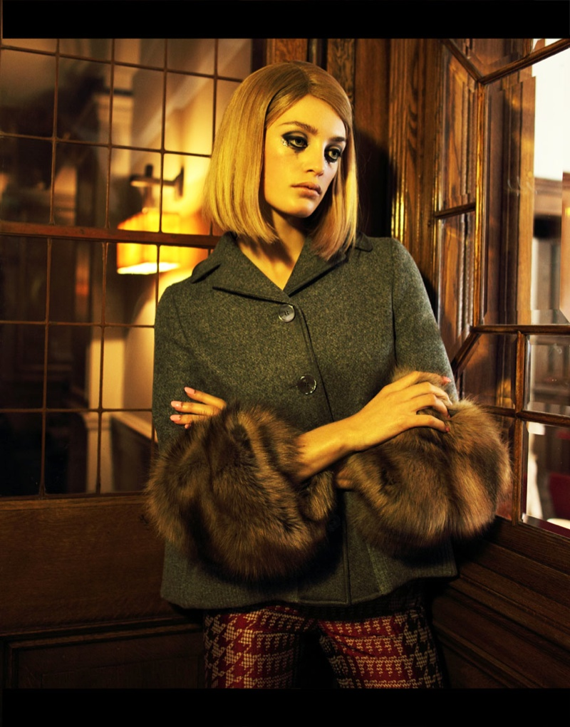 royal tenenbaums fashion5  Elle Ukraine Channels The Royal Tenenbaums for Feature by Nikolay Biryukov