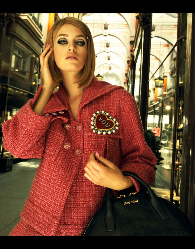 royal tenenbaums fashion7  Elle Ukraine Channels The Royal Tenenbaums for Feature by Nikolay Biryukov