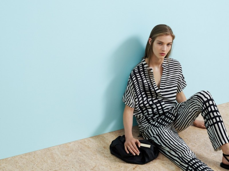 Elena Bartels is Minimal Chic for Saba S/S 13.14 Campaign