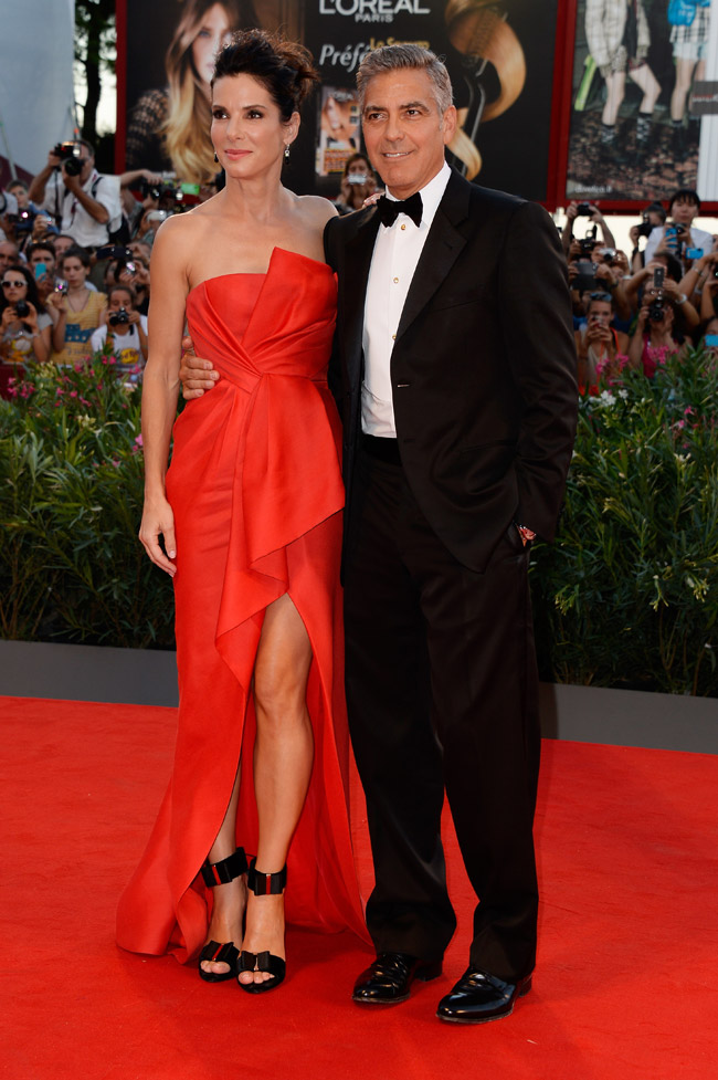 sandra j mendel1 Sandra Bullock Wears J. Mendel at the 70th Annual Venice Film Festival
