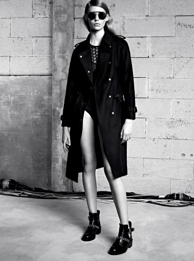 sandro fall 2013 1 Ondria Hardin Tapped for Sandro Fall/Winter 2013 Lookbook