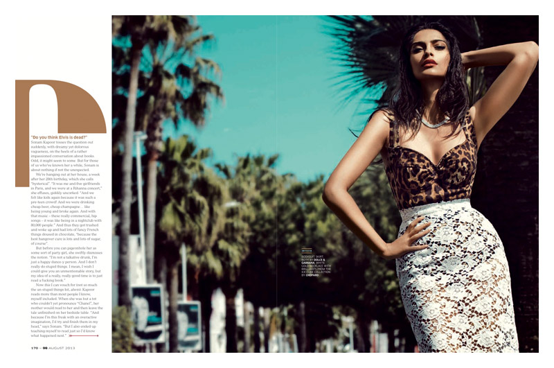 sanom kapoor gq india2 Sonam Kapoor Stuns in GQ Indias August Cover Story