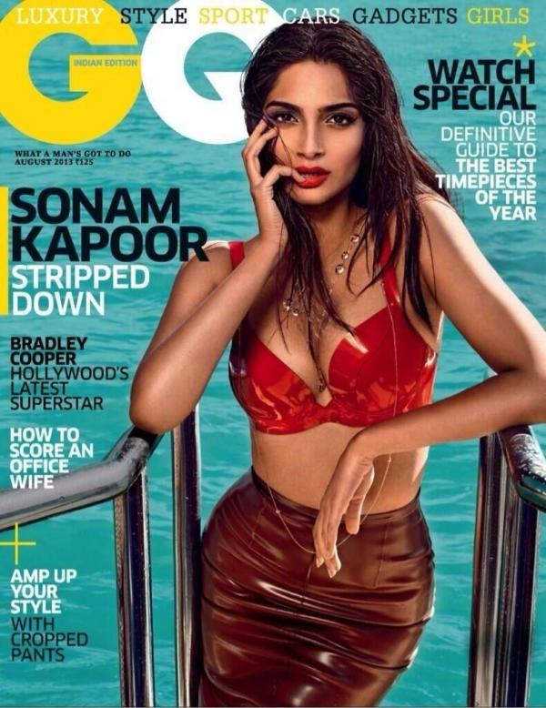 sanom kapoor gq india6 Sonam Kapoor Stuns in GQ Indias August Cover Story