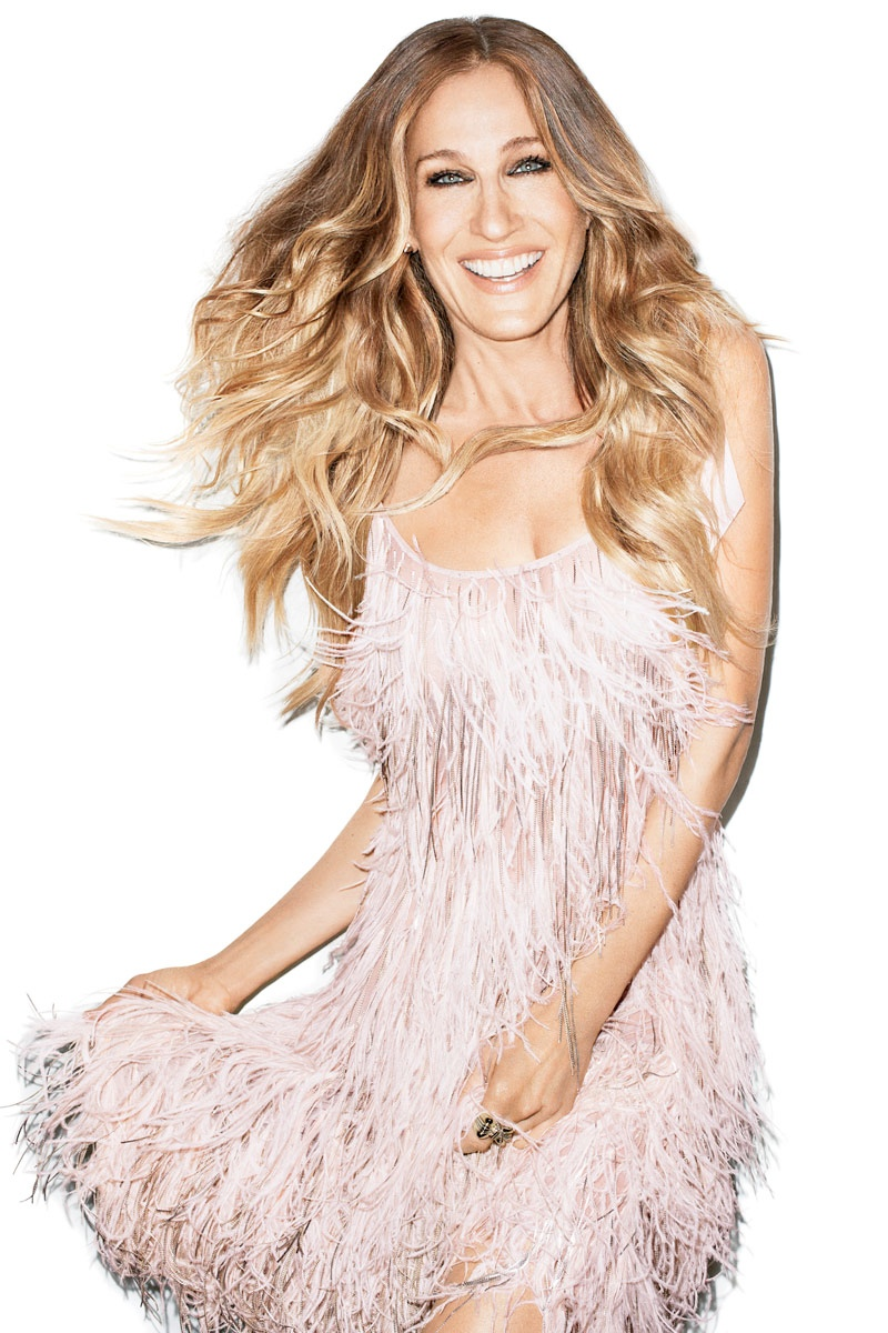 sarah jessica bazaar cover3 Sarah Jessica Parker Shines on Harpers Bazaar US September 2013 Cover