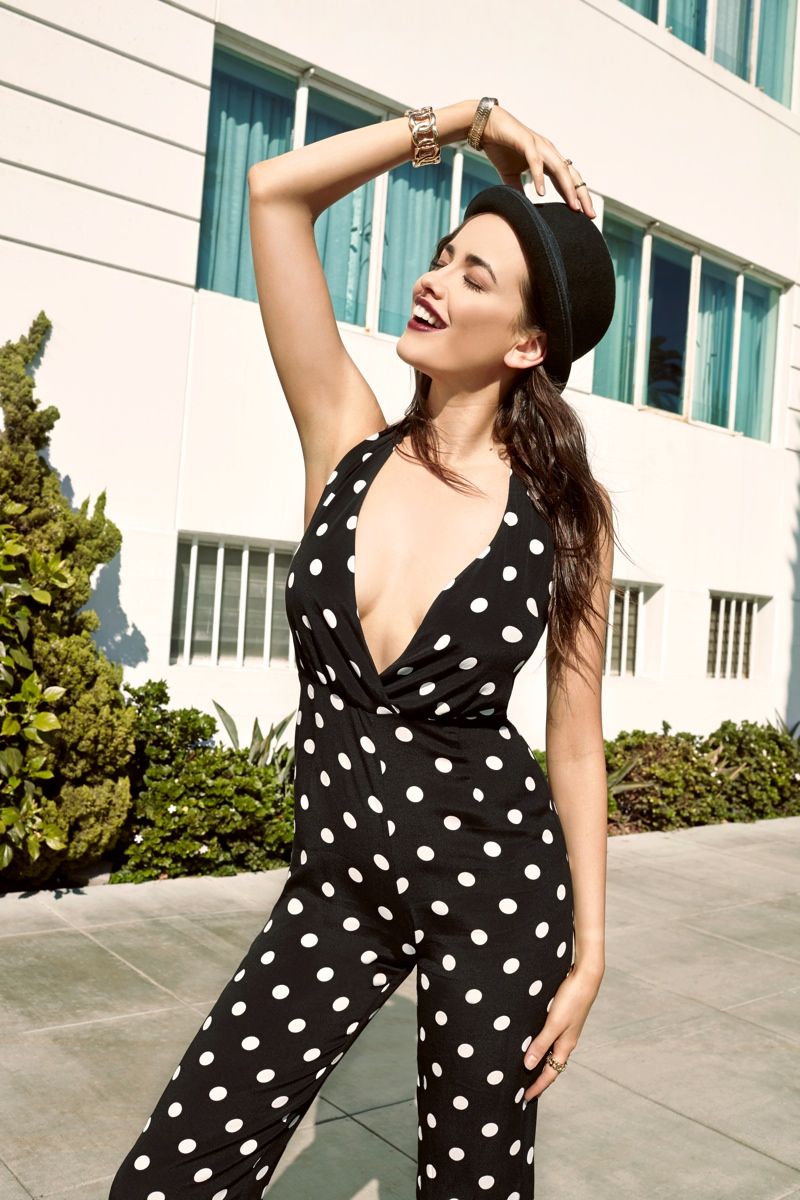 Sarah Stephens Models Sustainable Style for the Reformation x Nasty Gal Collection