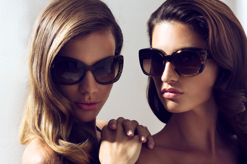 "Giulia & Andreia by Blake Davenport in ""Summer Shades"" for Fashion Gone Rogue"