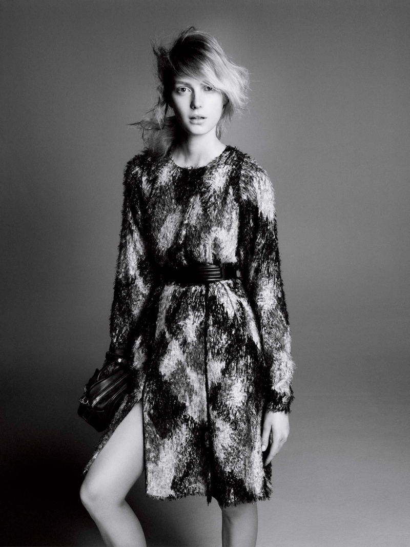 Sigrid Agren Stars in Sportmax Fall 2013 Campaign by David Sims