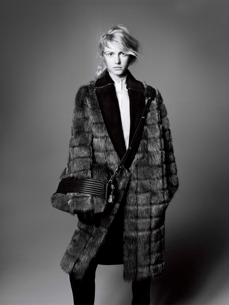 sportmax fall ads5 Sigrid Agren Stars in Sportmax Fall 2013 Campaign by David Sims