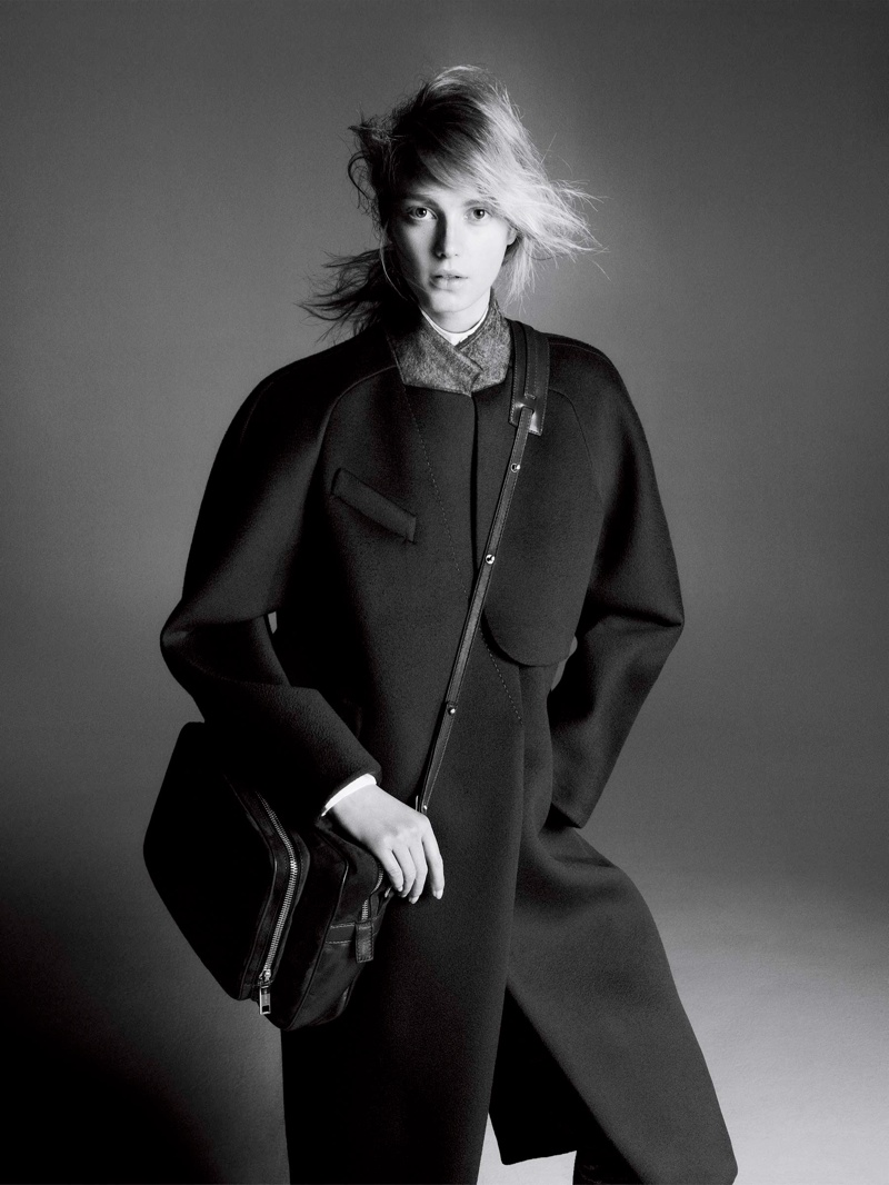 sportmax fall ads6 Sigrid Agren Stars in Sportmax Fall 2013 Campaign by David Sims