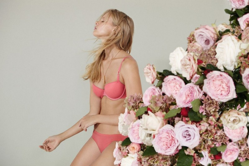 stella mccartney lingerie1 800x533 Marloes Horst Models Stella McCartney F/W 2013 Lingerie Collection