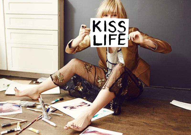 suki waterhouse2 Suki Waterhouse Fronts Sass & Bide Fall 2013 Campaign