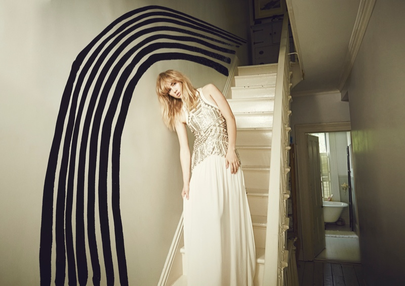 suki waterhouse4 Suki Waterhouse Fronts Sass & Bide Fall 2013 Campaign