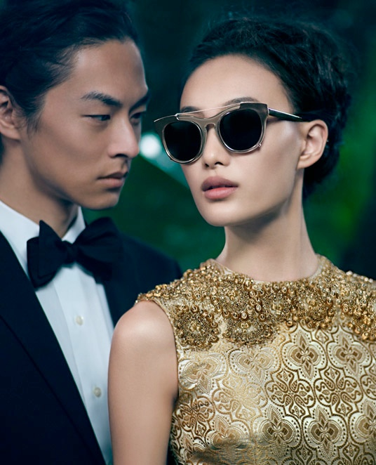 vera wang fall4 Shu Pei Returns for Vera Wangs Fall 2013 Ads