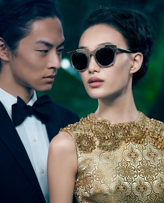 Shu Pei Returns for Vera Wang's Fall 2013 Ads