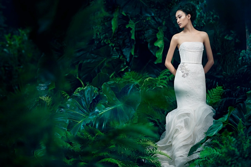 vera wang fall6 Shu Pei Returns for Vera Wangs Fall 2013 Ads