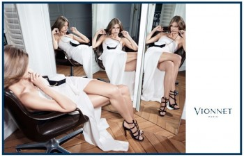 Malgosia Bela Gets Glam for Vionnet Fall 2013 Ads by Katja Rahlwes