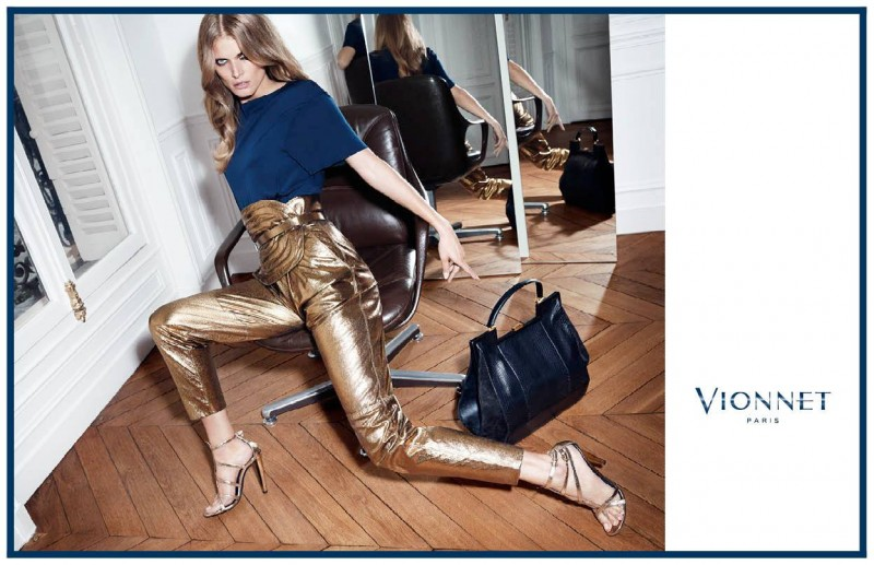 vionnet fw ads6 800x517 Malgosia Bela Gets Glam for Vionnet Fall 2013 Ads by Katja Rahlwes