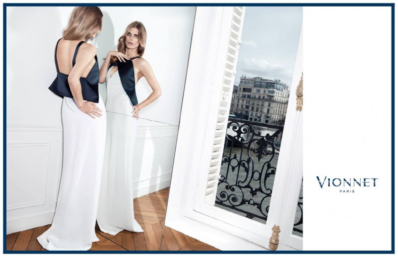 vionnet fw ads7 800x517 Malgosia Bela Gets Glam for Vionnet Fall 2013 Ads by Katja Rahlwes