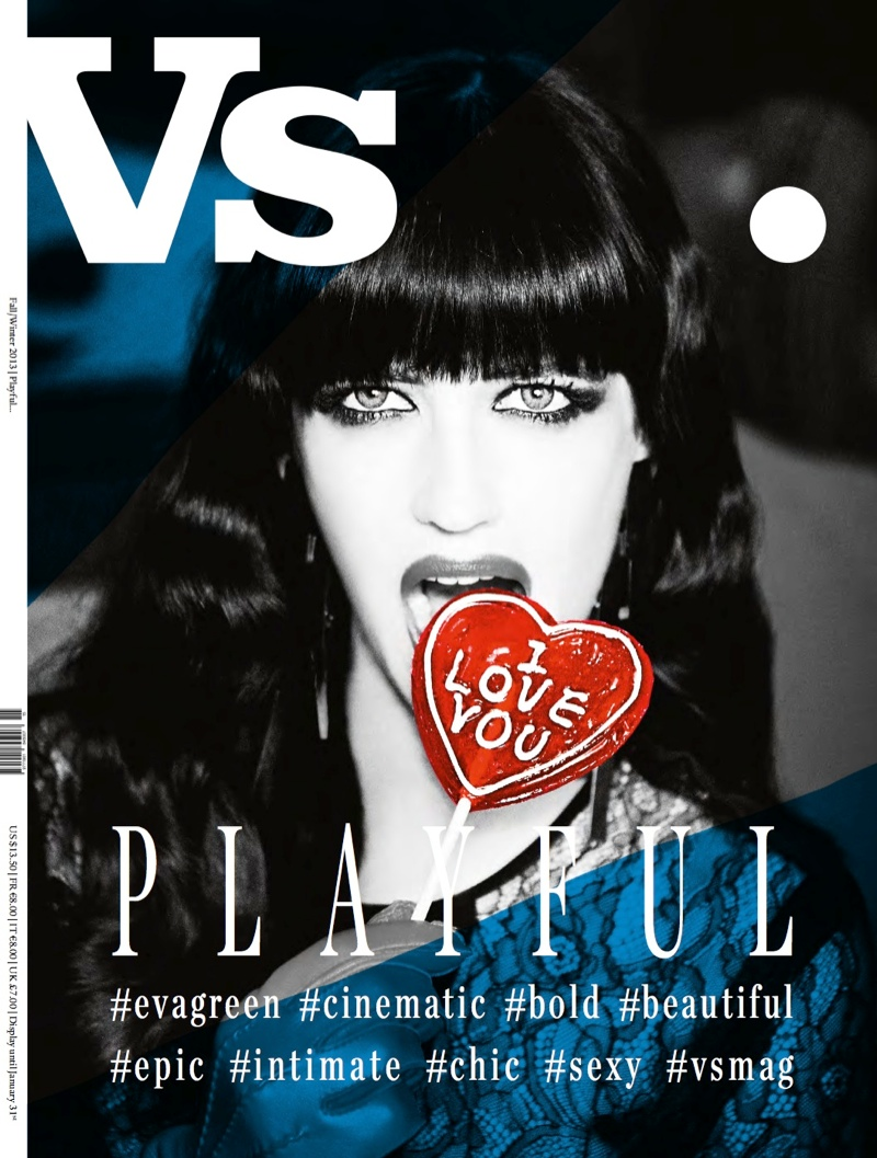 vs new covers1 Eva Green, Courtney Love & Jessica Stam Cover Vs. Magazine F/W 2013