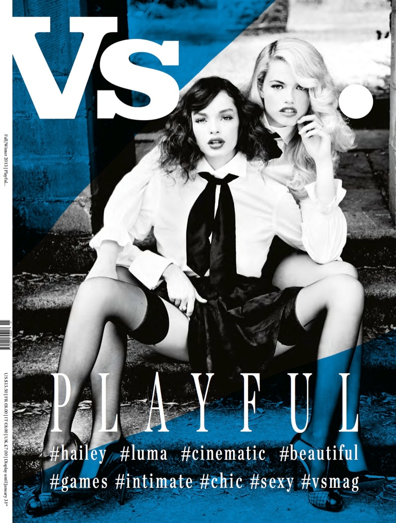 vs new covers2 Eva Green, Courtney Love & Jessica Stam Cover Vs. Magazine F/W 2013