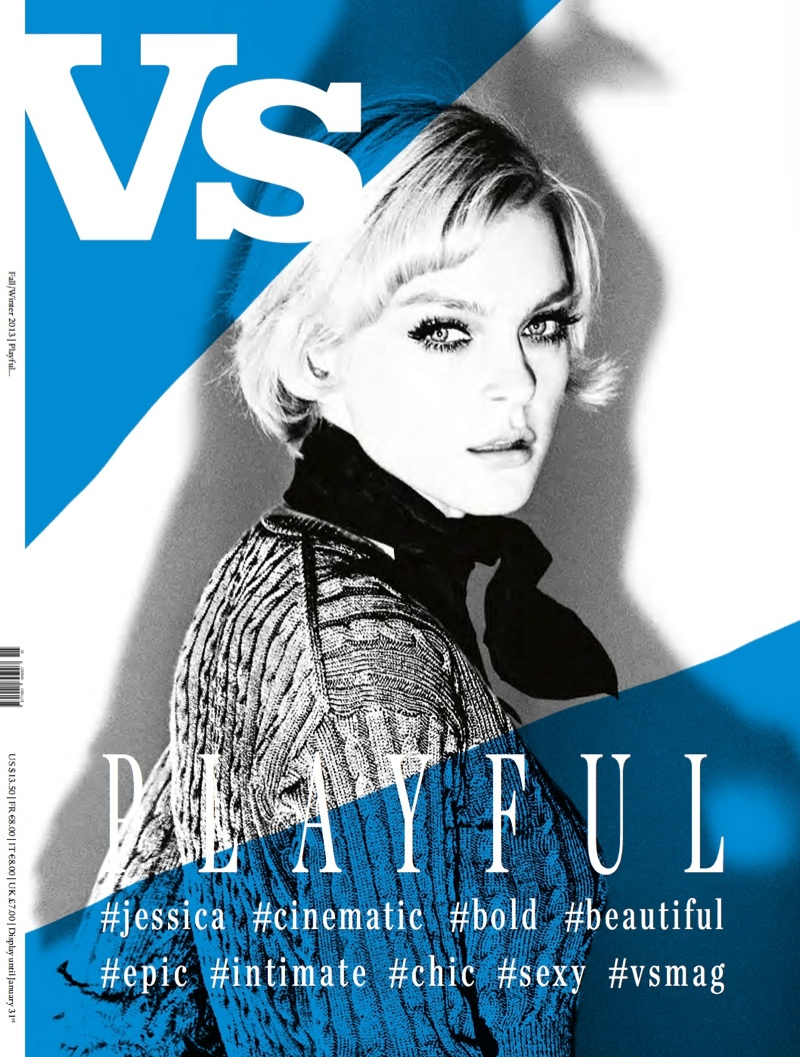 vs new covers3 Eva Green, Courtney Love & Jessica Stam Cover Vs. Magazine F/W 2013
