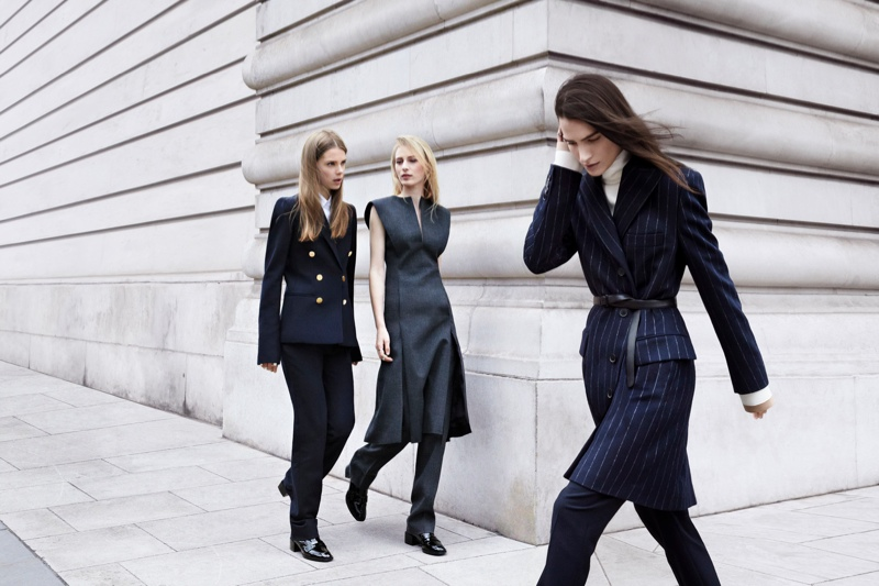 zara fall ads10 Zara Heads to the Streets for Fall 2013 Ads with Julia Nobis, Caroline Brasch Nielsen & More