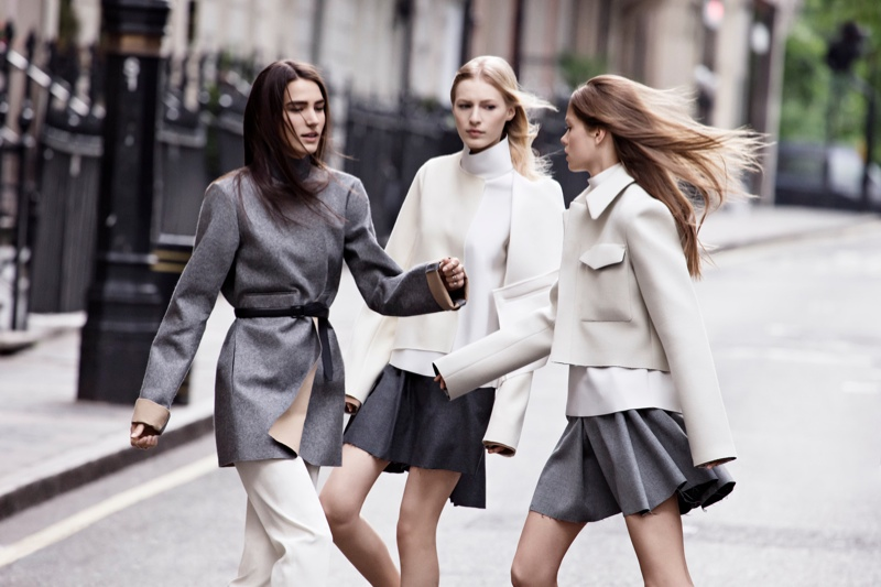 zara fall ads12 Zara Heads to the Streets for Fall 2013 Ads with Julia Nobis, Caroline Brasch Nielsen & More
