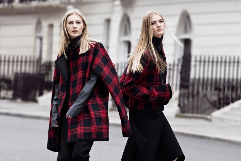 zara fall ads2 Zara Heads to the Streets for Fall 2013 Ads with Julia Nobis, Caroline Brasch Nielsen & More